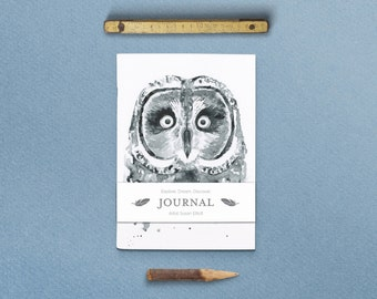 Nature Series Hootie the Owl Journal with Belly Band
