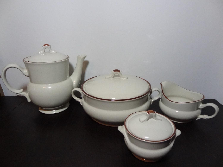 Vintage Hearthside Stoneware Casual Elegance Teapot/Coffee Pot ...