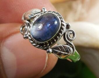 Kynite Ring, Kynite  Gemstone, Kynite Rings, Designer Ring, 925 Sterling Silver, Fine Silver Ring, Handmade Ring, Unique Ring, Wedding Ring,