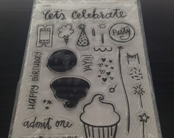 Birthday Stamp Set by Katie Thierjung for Studio Calico