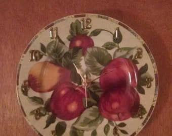 Fruity Fruit Clock - 8 Inches Wide