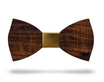 Luxury Bowtie WALNUT WOOD