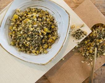 Chamomile Tea / Mint Tea / Herbal Chamomile Tea / NO. 019 / MINTY CHAMOMILE Herbal Tea