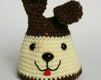 Puppy flan pin cushion