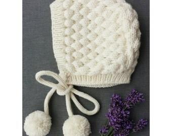 Baby hats, hat, baby bonnet, bonnet, Newbornbonnet, Bubblebonnet, wool hat, winter hat, Cap, Pixiehat, has, Newbornhat