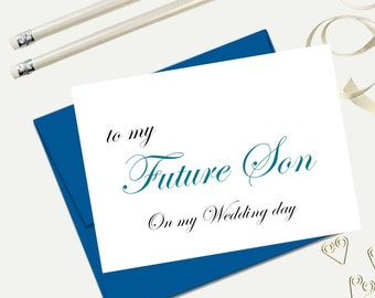 Stepson wedding Etsy