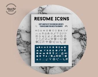 Infographic resume | Etsy