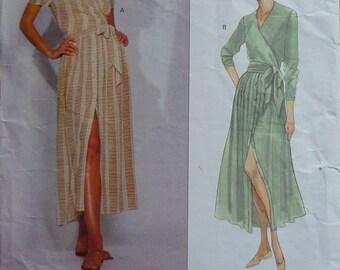 Vintage Sewing Pattern. Vogue  2912.  Dress Designer Clavin Klein. 14-16-18. Top and skirt pattern