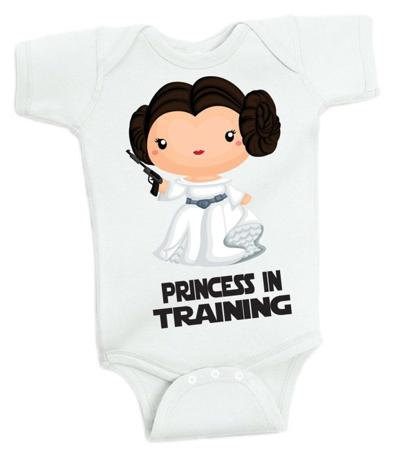 Star Wars Princess In Training Baby Bodysuit