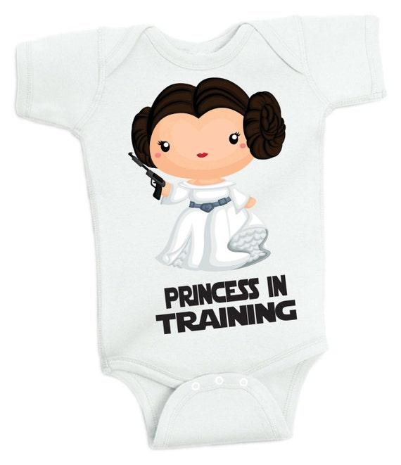 Star Wars Princess In Training Baby Bodysuit