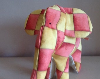 Handmade Elephant - Soft Toy - Can be personalised