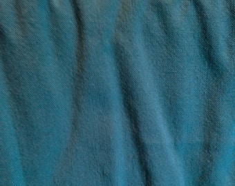 Dark Teal Linen Fabric-By-The-Yard