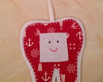 Tooth Fairy Hanger, nautical tooth fairy hanger,