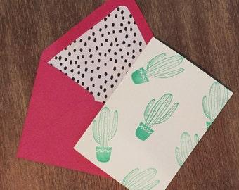 Cacti Stationary (set of 8)