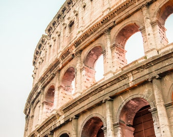 """Italy Photo, Rome Photography, Rome Art, """"The Colosseum"""""""