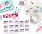 "MCM MANTRAS: ""Good Things Come to Those Who Hustle"" Paper Planner Stickers!"