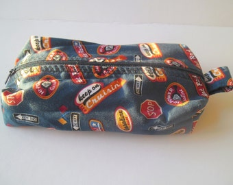 Box bag,gift for her, cosmetic bag