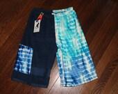 Towel Board Shorts - Size L - Wave Navy