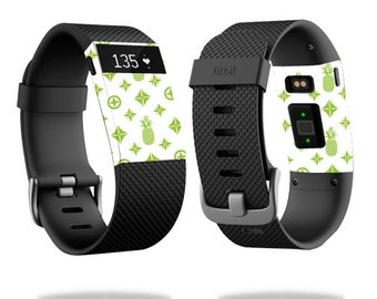 Skin Decal Wrap for Fitbit Blaze, Charge, Charge HR, Surge Watch cover sticker Lime Designer