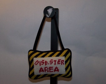 Disaster Area Hanging Pillow