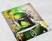 Boba Fett - Star Wars Art Print Poster - INSTANT DOWNLOAD 8x10 inches - Ideal Last Minute Gift