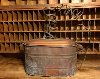 Prohibition Era Copper moonshine still