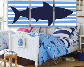 Wall art for boys, Shark Wall art, Shark Nursery Printable, Shark Set of 3, 8x10, Shark INSTANT DOWNLOAD