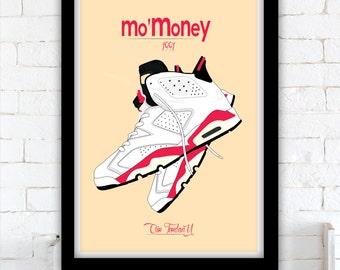 Mo'Money poster - Nike Air Jordan VI - Damon Wayans - 1992