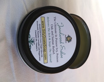 Poison Ivy Treatment, Jewelweed Salve, Poison Ivy relief