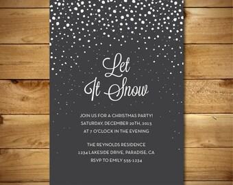 druckbare neujahrs einladung zur weihnachtsfeier