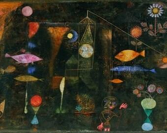 Paul Klee: Fish Magic. Fine Art Print/Poster. (003920)