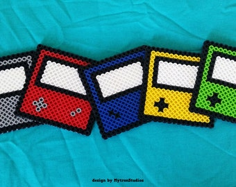 Nintendo Colors // 5 Coaster Set