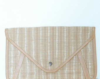 Pouch vintage straw