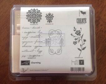 Stampin Up Stamp Set, Charming