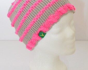 NANCY Cap neon pink grey - unique