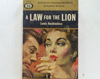 A Law of the Lion by Louis Auchincloss Vintage Paperback Book