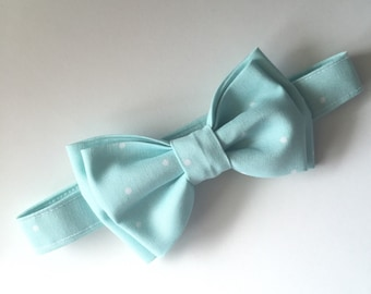 Little Boy Blue Bow Tie – You Choose Size