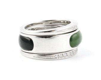 Canadian Nephrite Jade Ring, R0332