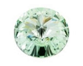 SWAROVSKI 1122 14mm Rivoli - Chrysolite