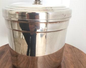 Vintage William Rogers Silverplate Ice Bucket