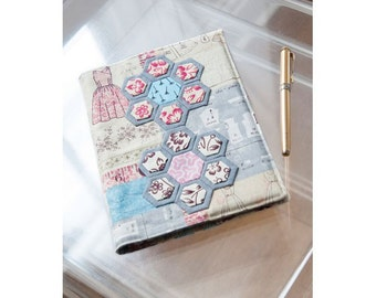 Hexagon Flowers Notebook Sewing Pattern Download 803378