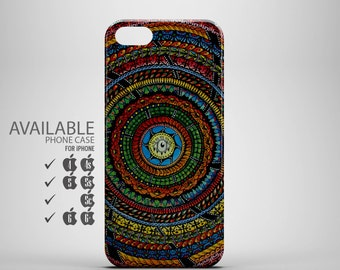 The color full Trippy psychedelic phone case for iPhone 4, 4s, 5, 5s, 5c, 6, 6plus