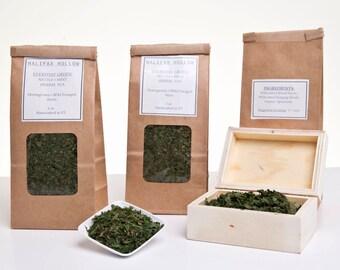 Loose Leaf Tea - Nettle Tea- Herbal Tea - Loose Leaf Tea Set -Tea Lover Gift- Stinging Nettle- Herbal Green Tea- Caffeine Free- Foodie Gifts