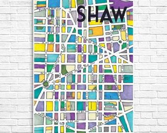 Shaw Neighborhood Map