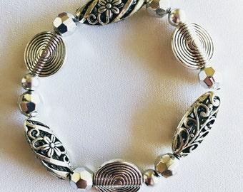 Swirls in Silver
