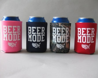 Beer Mode Can Holder USA America Patriotic