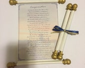 25+ Handmade Scroll Poems...