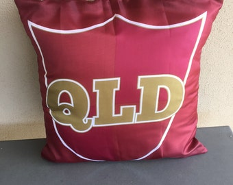 Qld Supporter Cushion Cover