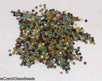 20g CZECH SEED BEADS 11/0 opaque mix/ 86800 270.