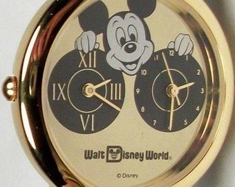 Disney Dual Time Mickey Mouse Watch! New Retired and out of Production